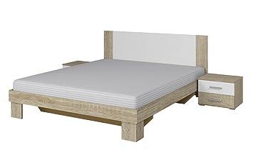 Bett Vera Mit 2 Nachttische Bettgestelle 160x200 180x200 Cm