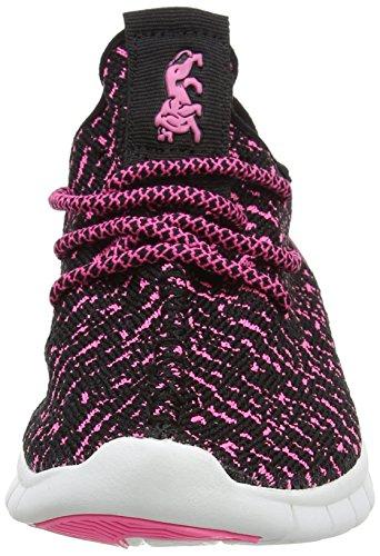 Lonsdale Carlos - Zapatillas de running Niñas rosa (rosa/negro)