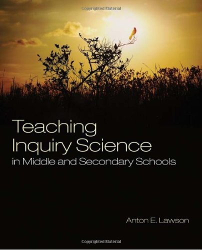 By Anton E. Lawson - Teaching Inquiry Science in Middle and Secondary Schools PDF