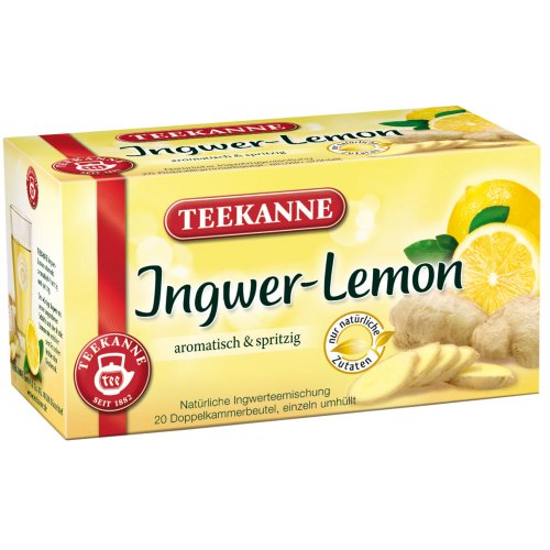 3x Teekanne  Ginger-Lemon