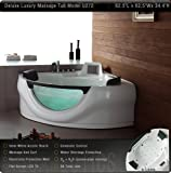 Massage Bathtub Model U272 with LCD TV by Aquapeutics