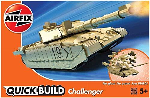 Airfix Quickbuild Challenger Tank Plastic Model Kit