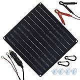 TP-solar 20 Watt 12 Volt Solar Trickle Charger 20W 12V Solar Panel Car Battery...