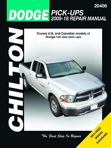 Dodge Pick-ups from 2009-2018 Chilton Repair Manual