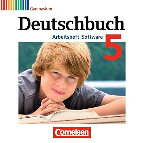 Deutschbuch, Gymnasium, Arbeitsheft-Software : 5. Schuljahr, Übungs-CD-ROM zum Arbeitsheft