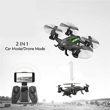 Modo de Vuelo en Modo terrestre Modo de Vuelo 2 en 1 Quadcopter ...