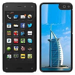 EJOY---Cubierta de la caja de protección para la piel dura ** Amazon Fire Phone ** --Arquitectura Burj Dubai Hotel árabe