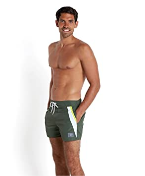4bc012a59d Speedo &apos Men's Swim Shorts Retro Leisure 14 Water Shorts by, Men, Green/