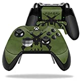 MightySkins Protective Vinyl Skin Decal for Microsoft Xbox One Elite Wireless Controller case wrap cover sticker skins Molon Labe