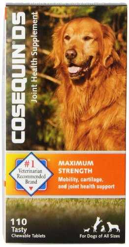 Cosequin DS Chewable Tablet, 110 Count