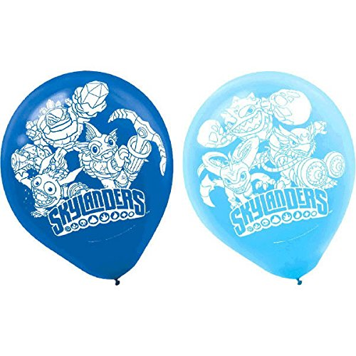 Skylanders Latex Balloons [6 Per Pack]
