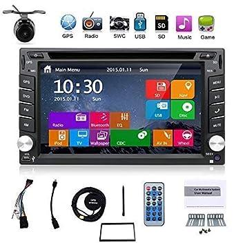Última Win 8 UI Design 6.2 pulgadas en el tablero doble DIN LCD pantalla táctil navegación