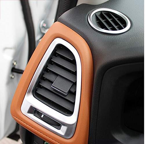 BEESCLOVER for Honda HRV VEZEL HR-V 2014 2015 2016 Dashboard AIR Vent Chrome Interior Cover Trim Bezel Frame Styling Garnish MOLDING Show One Size