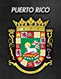 Puerto Rico: Coat of Arms | 2020 Weekly Calendar | 12 Months | 107 pages 8.5 x 11 in. | Planner | Diary | Organizer | Agenda | Appointment | Half Spread Blank Pages
