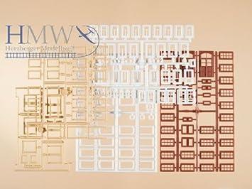 Auhagen 48647 de/Ventanas/Puertas Kit de Modelado: Amazon.es: Juguetes y juegos