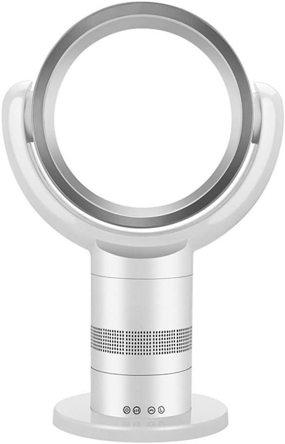 CL& Ligero y Elegante, Control Remoto por Infrarrojos, Dispositivo móvil portátil, Suministro de Aire de área Amplia, circulación de Aire Vertical en el hogar sin álabes del Ventilador