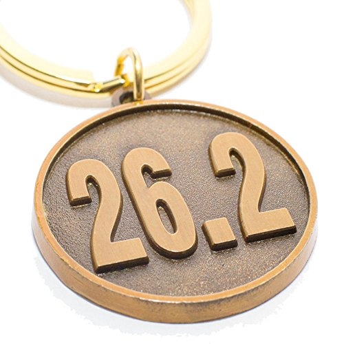 Marathon Runner's Gift - 26.2 Keychain - Unique Gift for a Marathon Race Finisher - Men and Women Love This Idea to Celebrate the Accomplishment of Their First Time Running or Jogging a Complete 26.2