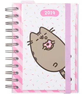 Agenda escolar 2019/2020 semana vista Pusheen Gold: Amazon ...