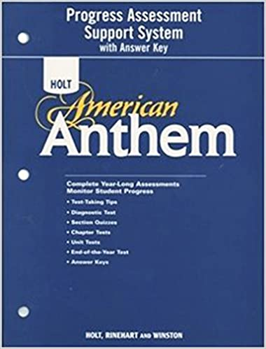 Amazon american anthem program assessment support system american anthem program assessment support system with answer key 1st edition fandeluxe Gallery