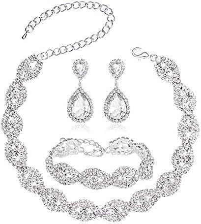 Choker Necklace Women Rhinestone Bracelet product image