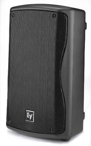 Series Club Speaker Concert (Electro-Voice ZXA1-90 Powered PA Speaker Black)