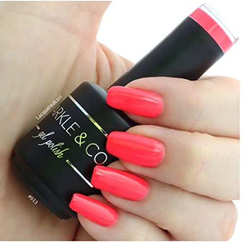 Sparkle & Co. Gel Color 013 Hot Coral Soak Off UV/LED Gel Na