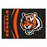 FANMATS NFL Cincinnati Bengals Nylon Face Starter Rug