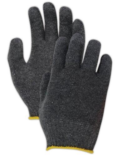 Magid G14180KW Grayt Lightweight Cotton/Polyester High-Density Glove with Knit Wrist Cuff, Work, 8-1/2