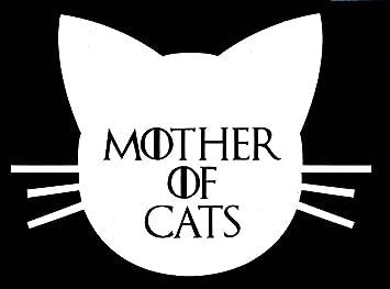 Amazon.com: Madre de gatos Funny Game of Thrones vinilo ...