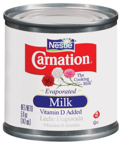 Carnation Evaporated Milk, 5-Ounce Cans (Pack of 48) by Carnation