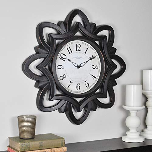 FirsTime & Co 99659 FirsTime Rosette Wall Clock, 20