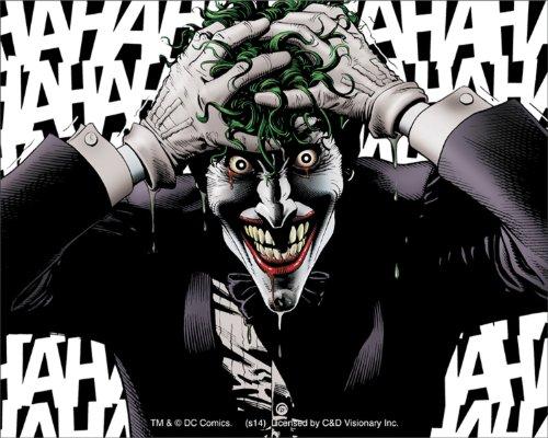 Licenses Products DC Comics Batman Joker Hahaha
