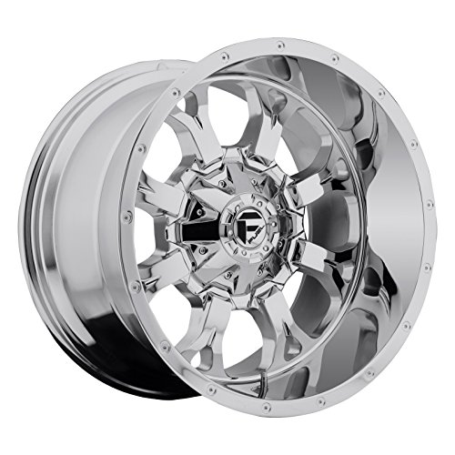 20x10 Chrome Wheels - Fuel Krank 20x10 Chrome Wheel / Rim 8x6.5 with a -24mm Offset and a 125.20 Hub Bore. Partnumber D51620008245