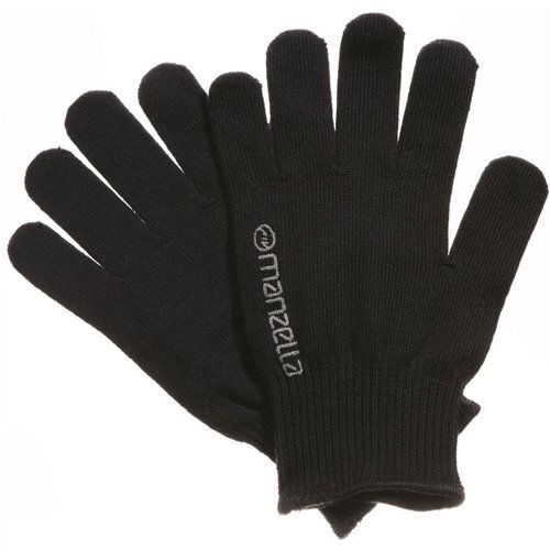 - Manzella Polyester/Lycra Spandex Liner Gloves - Men's