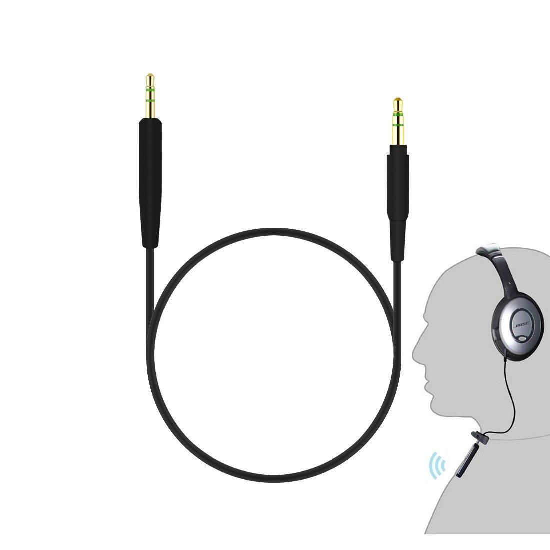 QuietComfort QC25/Auriculares Cable//Adaptador Bluetooth//Bluetooth receptor cable de conexi/ón negro Inal/ámbrico Kit de conversi/ón para Bose SoundTrue//SoundTrue II Around-Ear