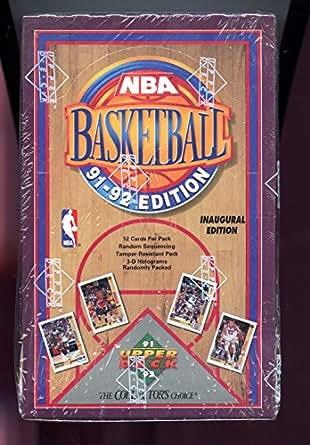 1991 92 Upper Deck Basketball Card Wax Pack Box Set