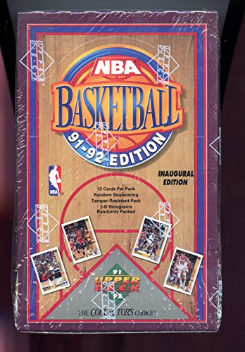 1991-92 Upper Deck Basketball Card Wax Pack Box Set Michael Jordan 1992 NBA READ DESCRIPTION (1991 92 Upper Deck)