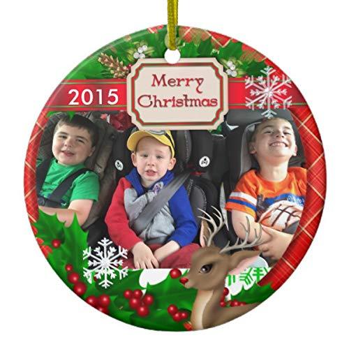 Lplpol 2015 Picture Xmas Trees Home Decorated Ceramic Ornaments Porcelain Ornament Personalize Souvenir Reindeer & Snowflakes