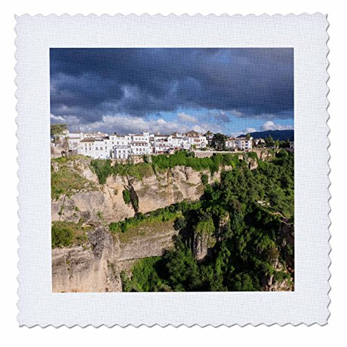 3dRose Danita Delimont - Mountains - Spain, Andalusia, Ronda. - 20x20 inch quilt square (qs_277901_8) by 3dRose