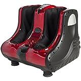 Best Choice Products Shiatsu Kneading Foot Calf Leg Massager Vibration Heating Rolling Massage, Red, 24 Pound