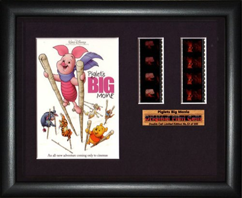 Piglet's Big Movie Disney - Framed double filmcell picture (bd)