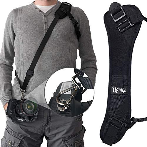 Qbingo Camera Strap,Photo Rapid Fire Camera Neck Strap, Upgrade, Thicker, Safer Wrist Strap for Camera,Camera Grip Hand Strap,Canon DSLR Accessories,for Sony,Olympus from Qbingo