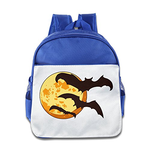 XJBD Custom Superb Halloween Teenager School Bag For 1-6 Years Old RoyalBlue]()