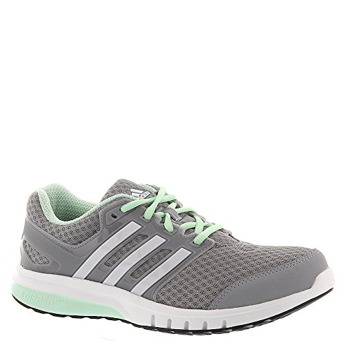 adidas Women's Galaxy Elite w Running Shoe, Mid Grey/White/Frozen Green, 6.5 M US