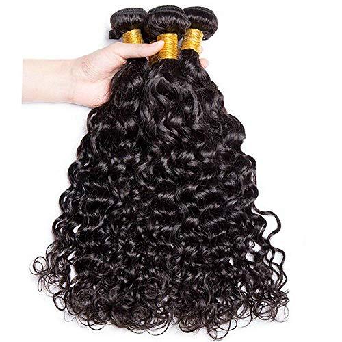 wigs buy Haarverlängerung, 20 20 22 22, Black#1B (Klassische Farbtöne)