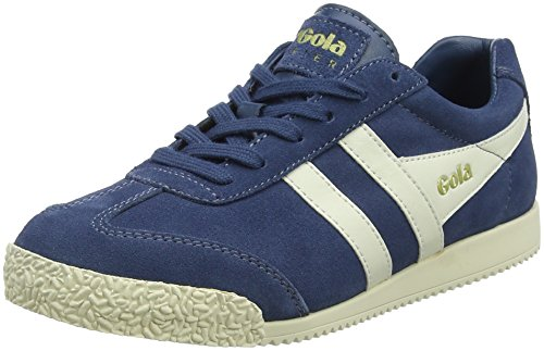 baltic Gola Blu White off Sneaker off White Donna Suede White Baltic Harrier rORyR78qS