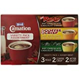 Carnation Hot Chocolate Variety Pack Rolo, Coffee Crisp, After Eight, 7-Count Box, 28g Envelopes