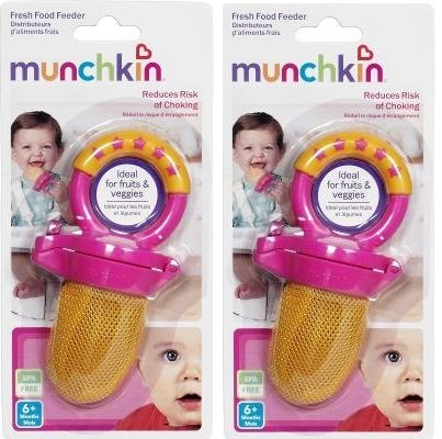 Munchkin Fresh Food Feeder Colors May Vary #43101 - 2 Count by Munchkin
