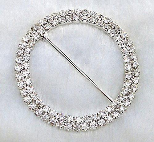 Diameter Rhinestone Invitation Wedding Hairbow product image