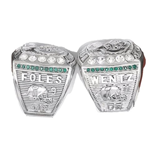 FanzRing 2017-2018 Philadelphia Eagles Super Bowl Championship Ring Wentz Foles Set Champion Ring (11)